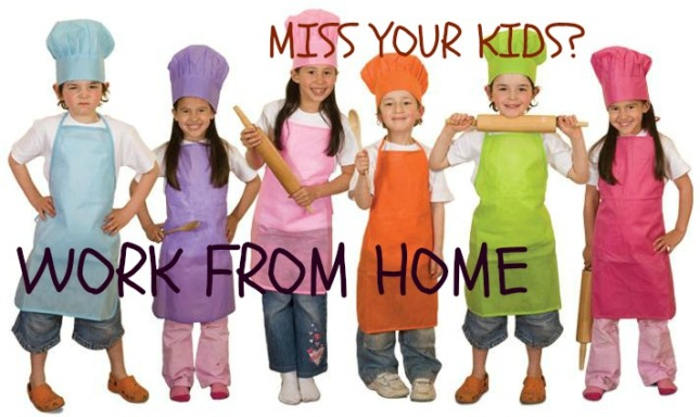 miss your kids - food